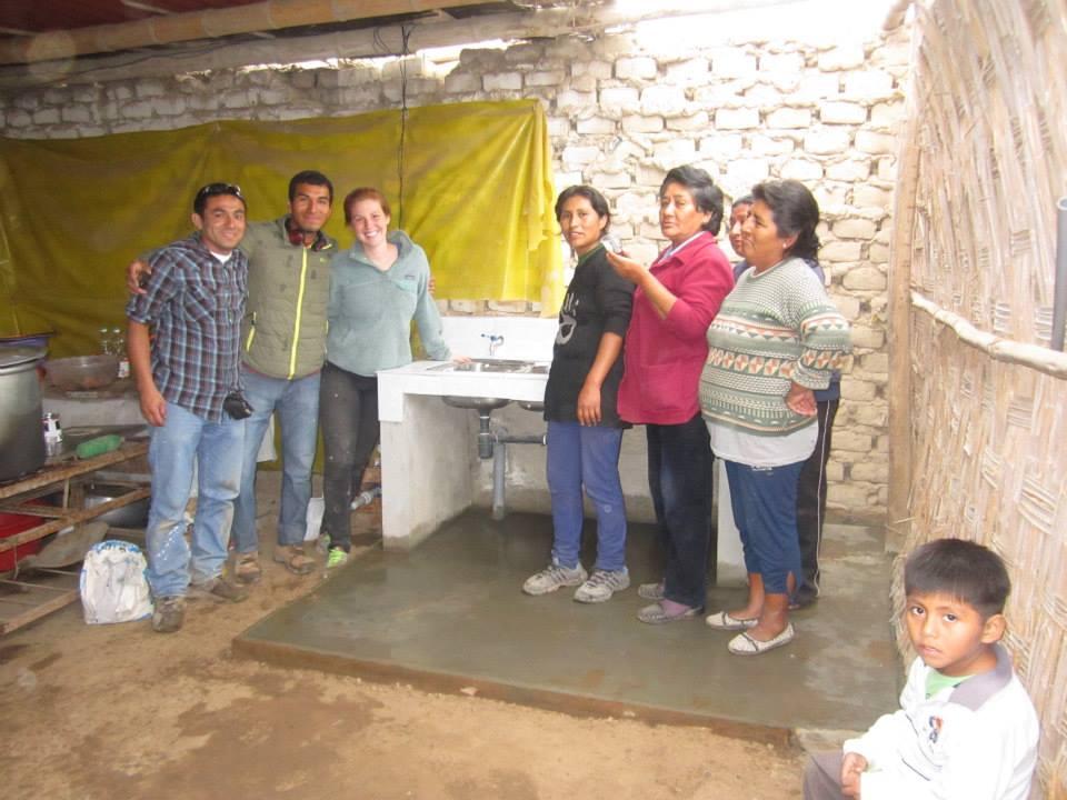 Conclusion of Comedor Popular and Vaso de Leche Water and Bathroom Project - Peru