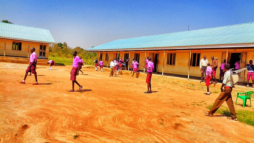 Students in the School yard