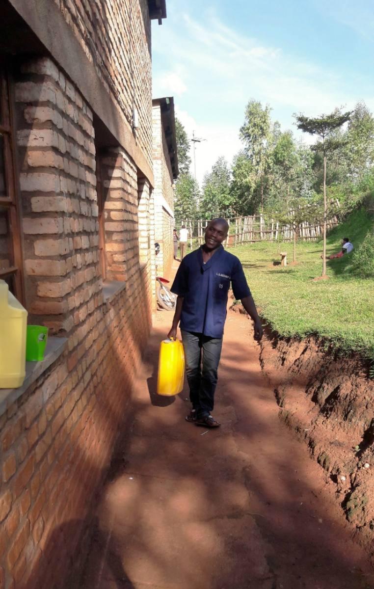 Ryakibogo Cell Water System Project - Rwanda