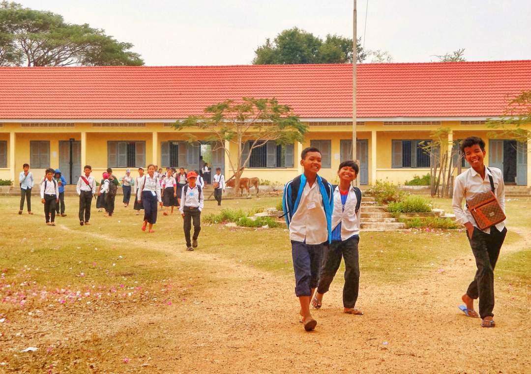 Boys at the school