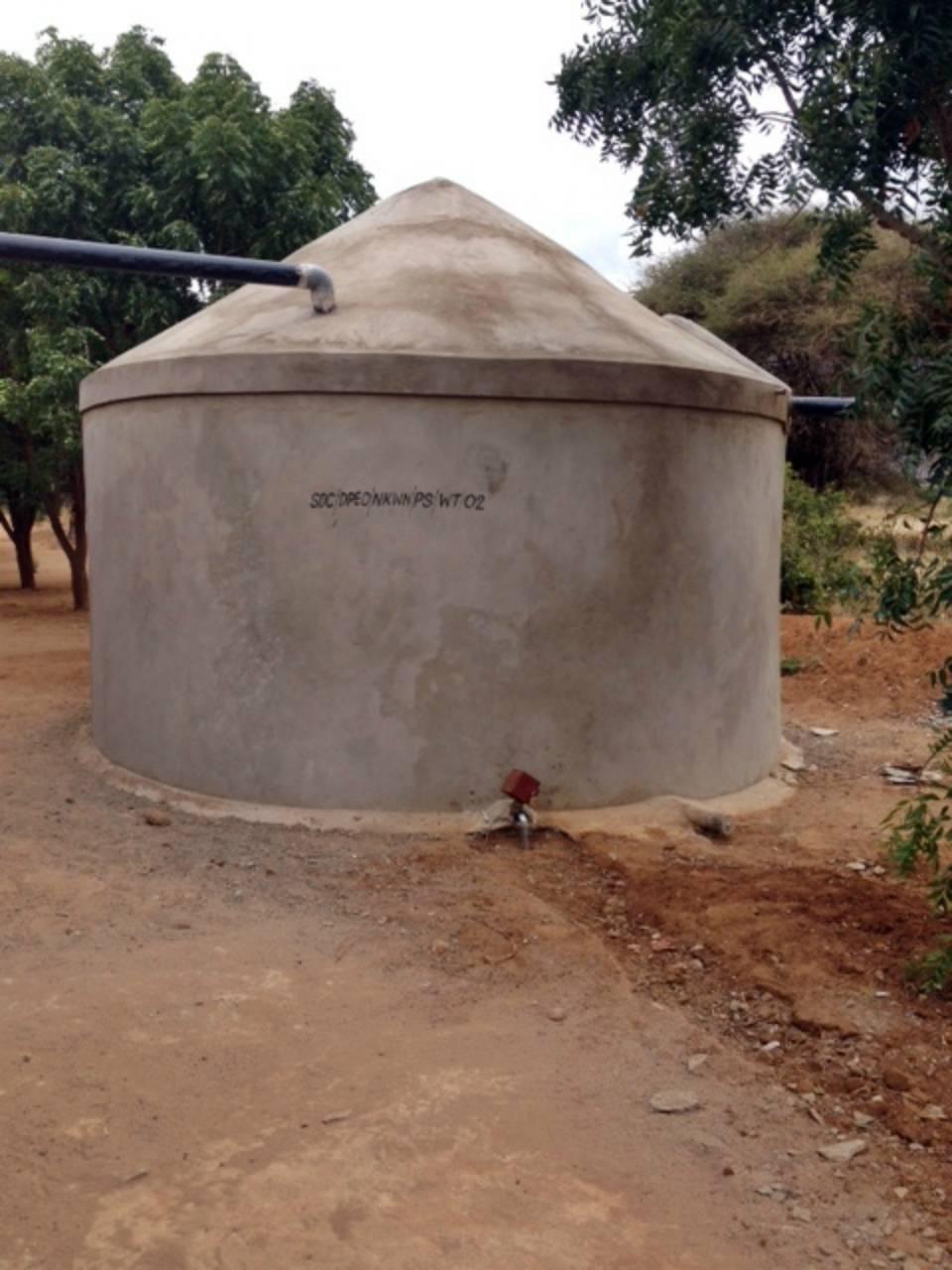 Conclusion of Nkwini Rainwater Catchment Project - Tanzania