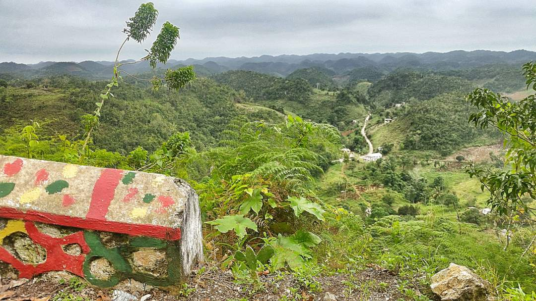 Dry Harbor Region of the Blue Mountains in Jamaica