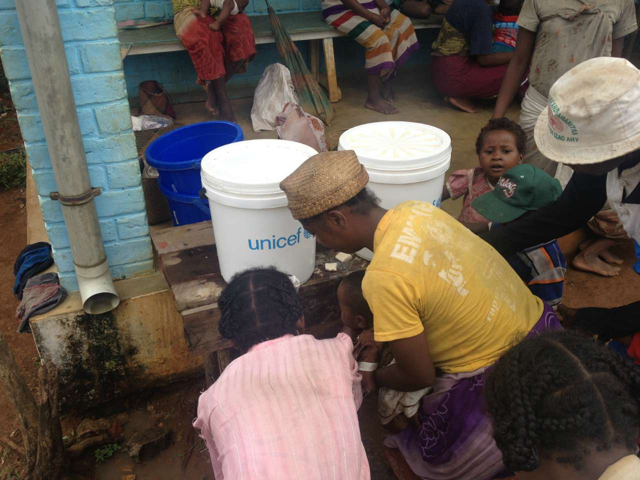 Amporoforo Clinic Shower Facility - Madagascar