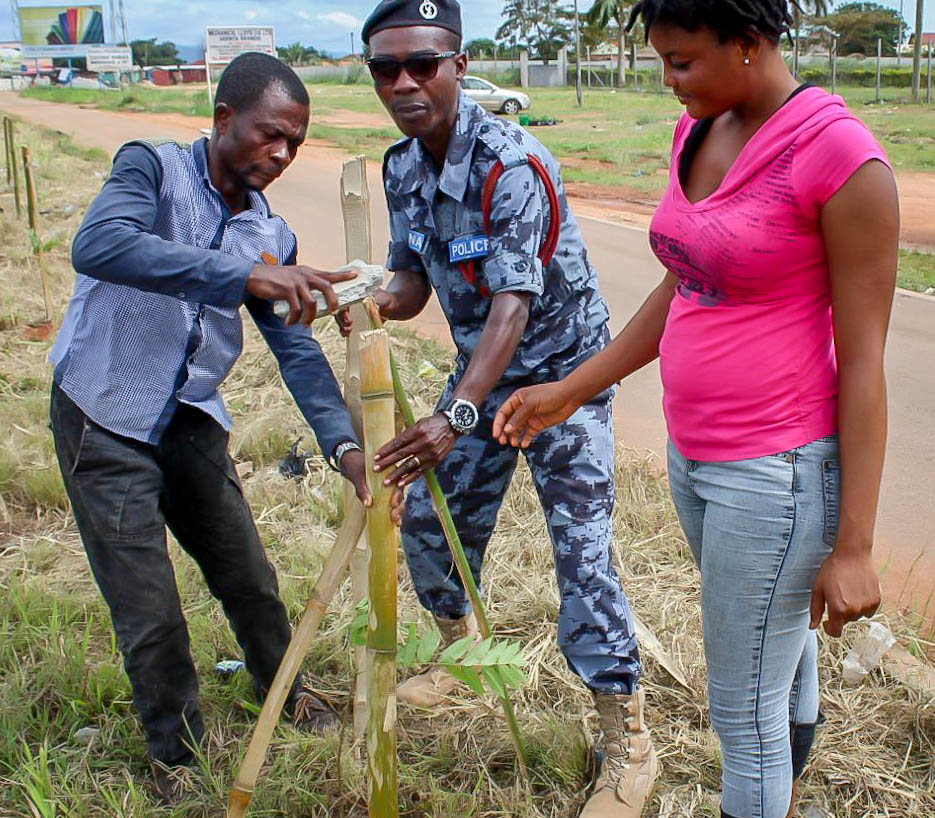 Conclusion of Call to Nature Permaculture Tree Planting Project - Ghana