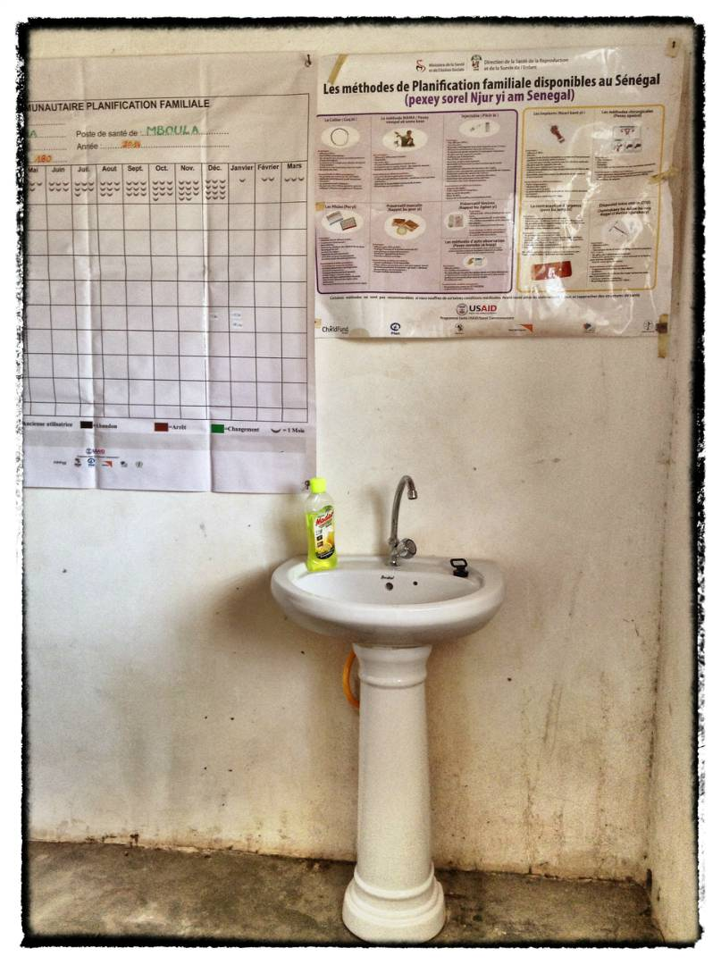 Conclusion Of Mboynane Health Hut Water And Sanitation Project - Senegal