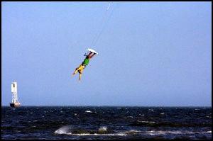 Kitesurfing Challenge in Mozambique