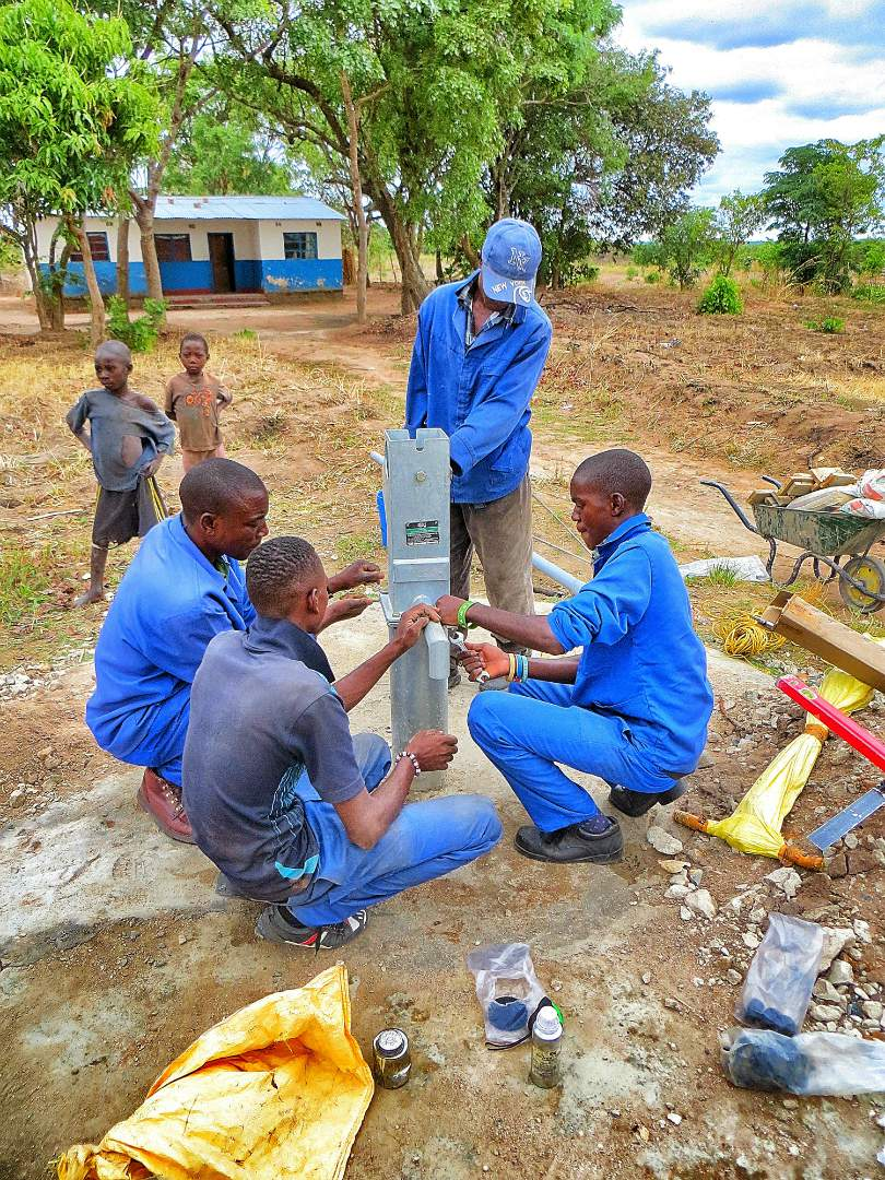 Fixing the Borehole