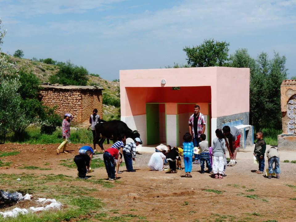 Conclusion of Madrassa Latrine Project – Morocco