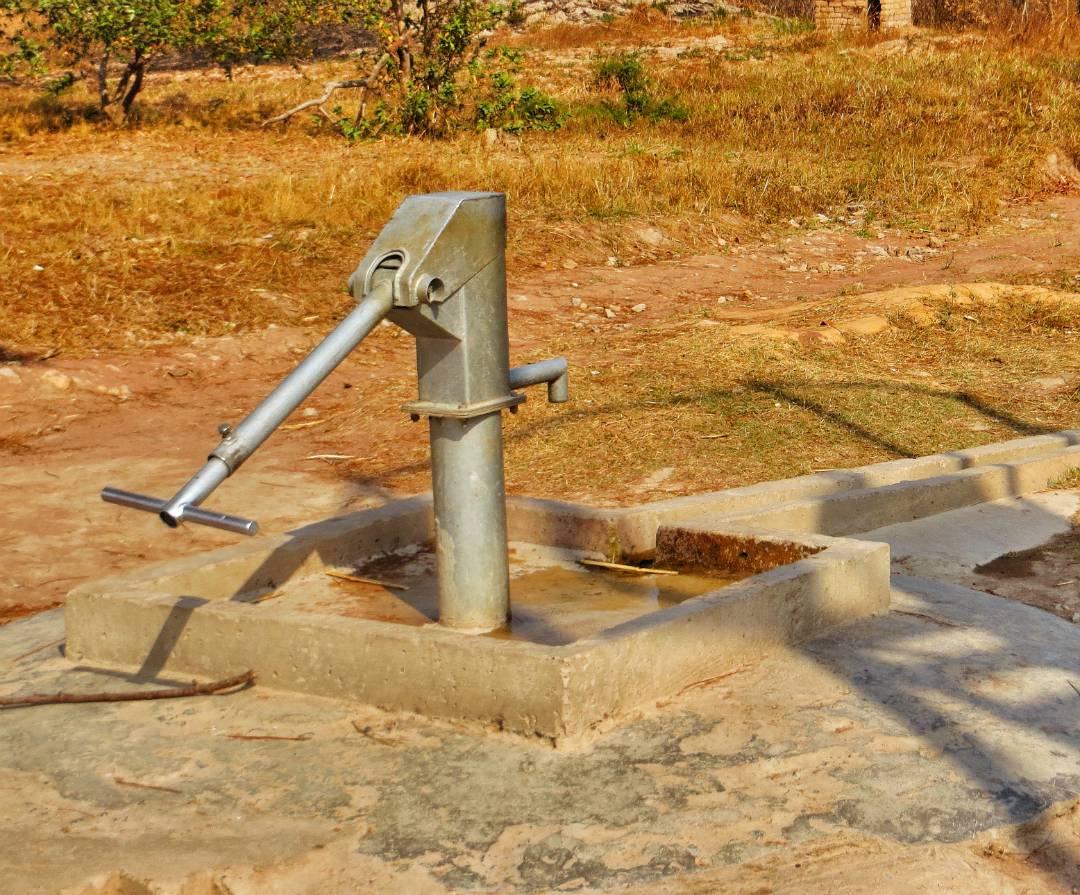 Borehole and Pump - Zambia