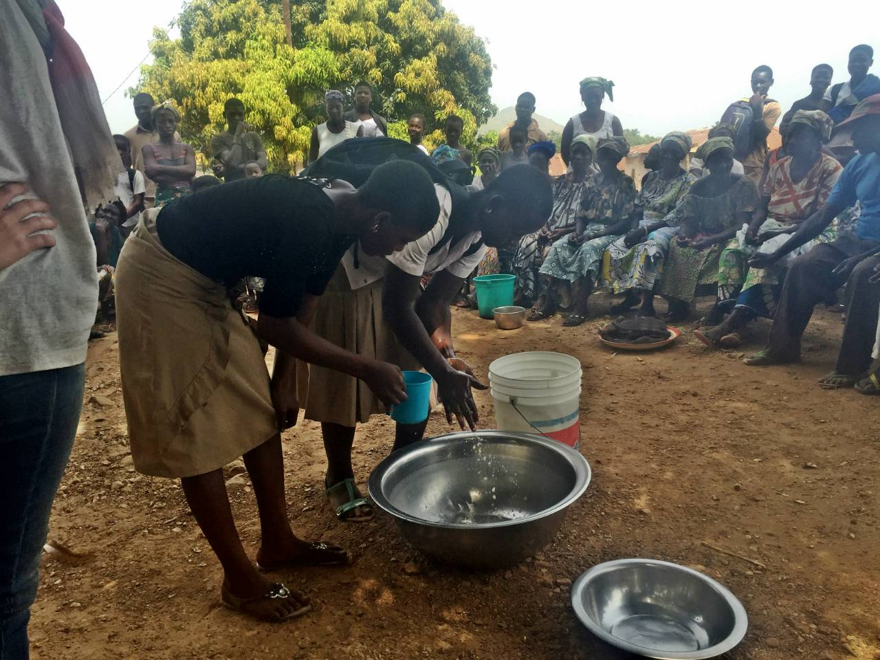 Conclusion of Bassar Borehole Repair Project - Togo