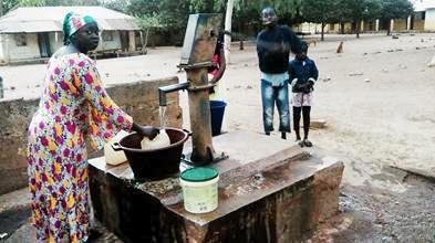 School Water Pump Fixed
