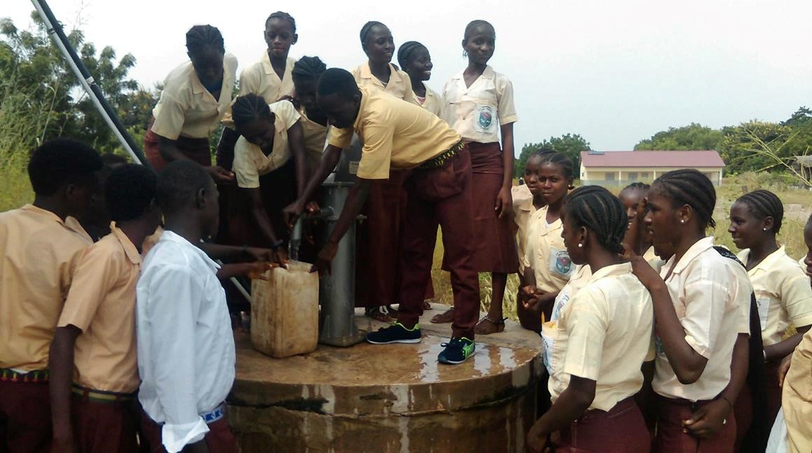 Conclusion of Fula Bantang Senior Secondary School Well Project - The Gambia