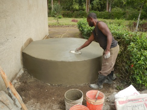 Conclusion of Mwatisi Secondary School Rainwater Catchment Project - Tanzania