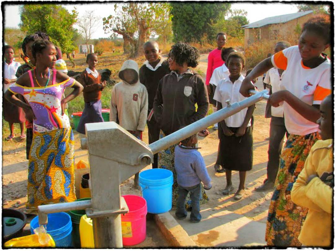 Conclusion of Mansa School Borehole Project -- Zambia