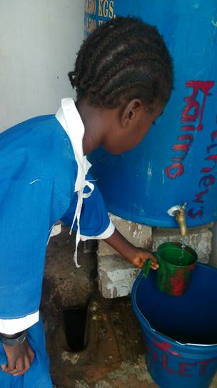 Water for school child