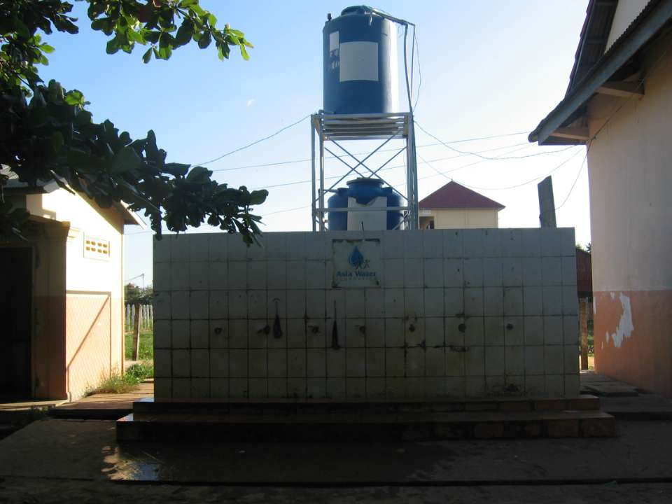 Aranh Primary School Filter and Handwashing Station Project - Cambodia