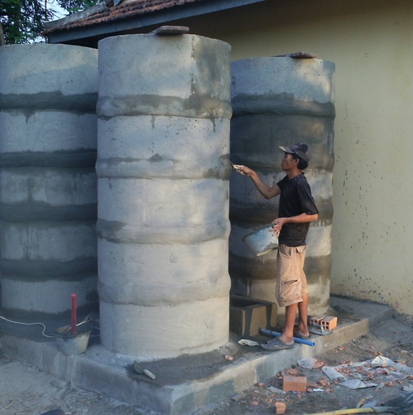 Conclusion of Ang Chak High School Rainwater Storage Project – Cambodia