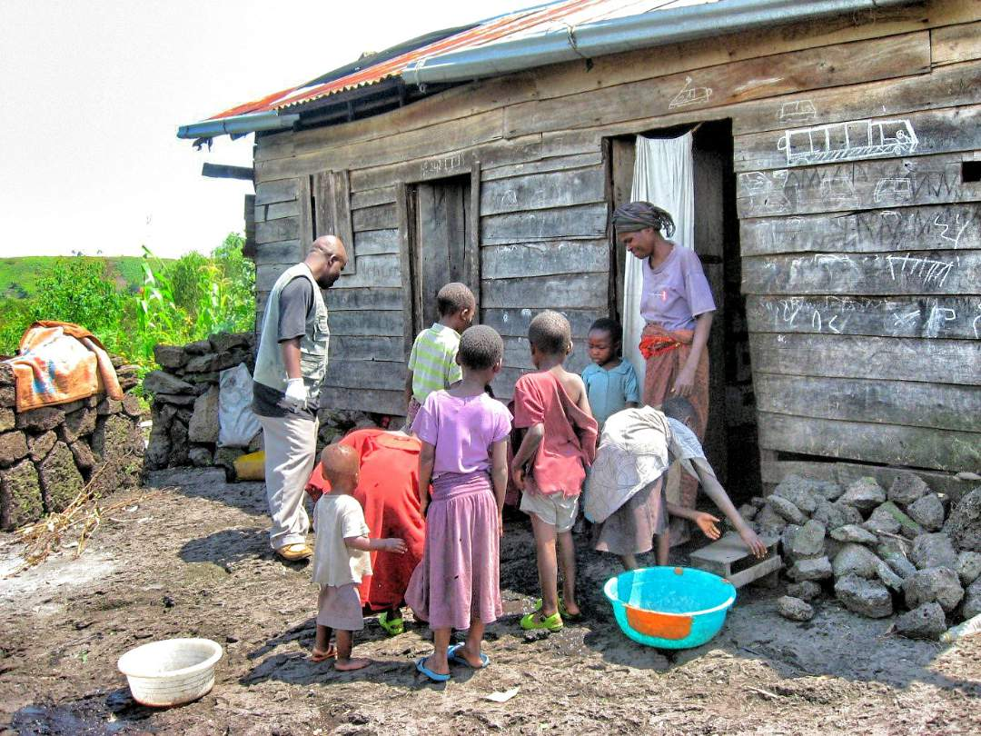 Household in Nyiragongo