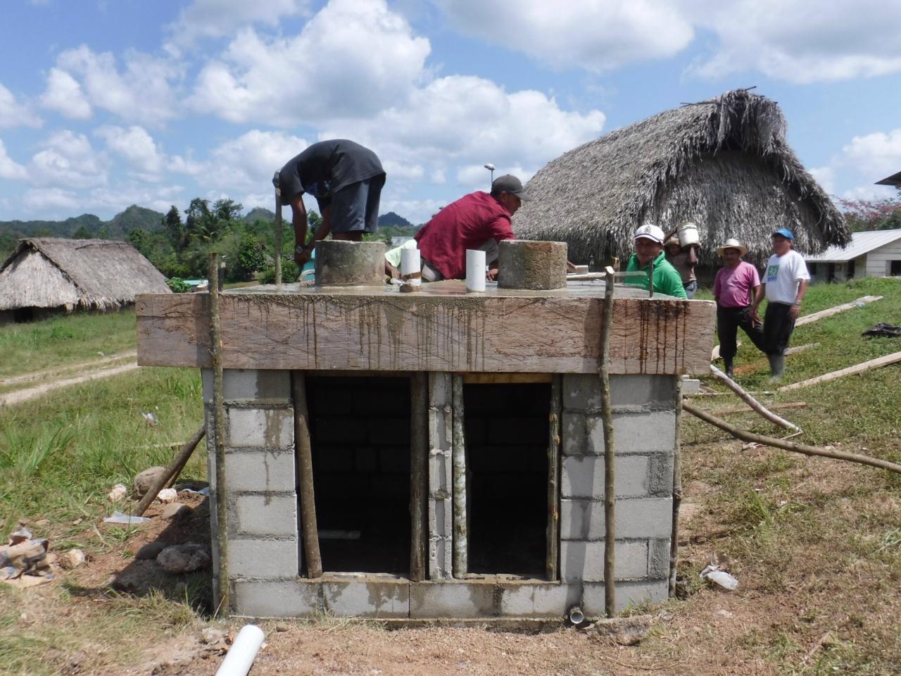Conclusion of San Benito Poite Public Latrine Project - Belize