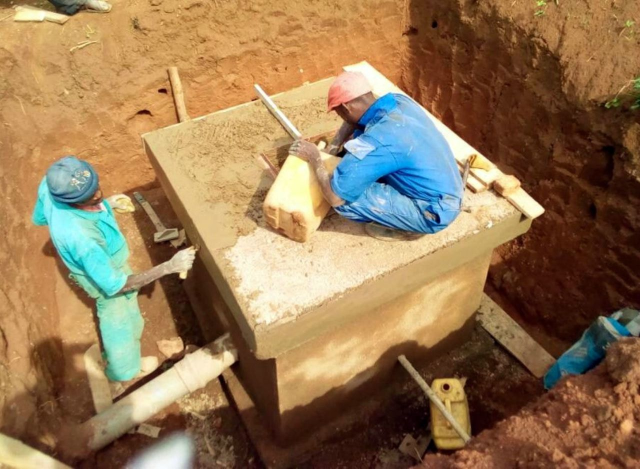 Conclusion of Makura Sector Water System Project - Rwanda