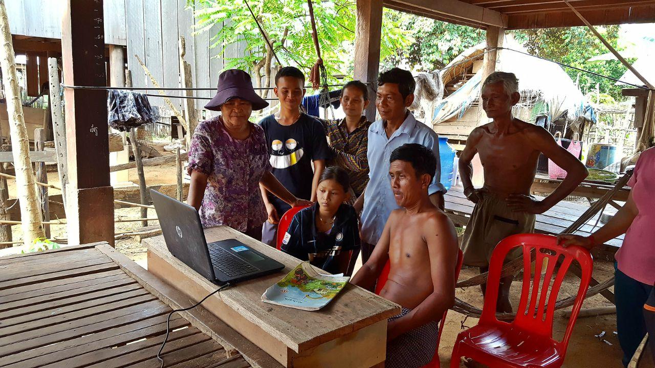 Sandan District Latrine Project - Cambodia