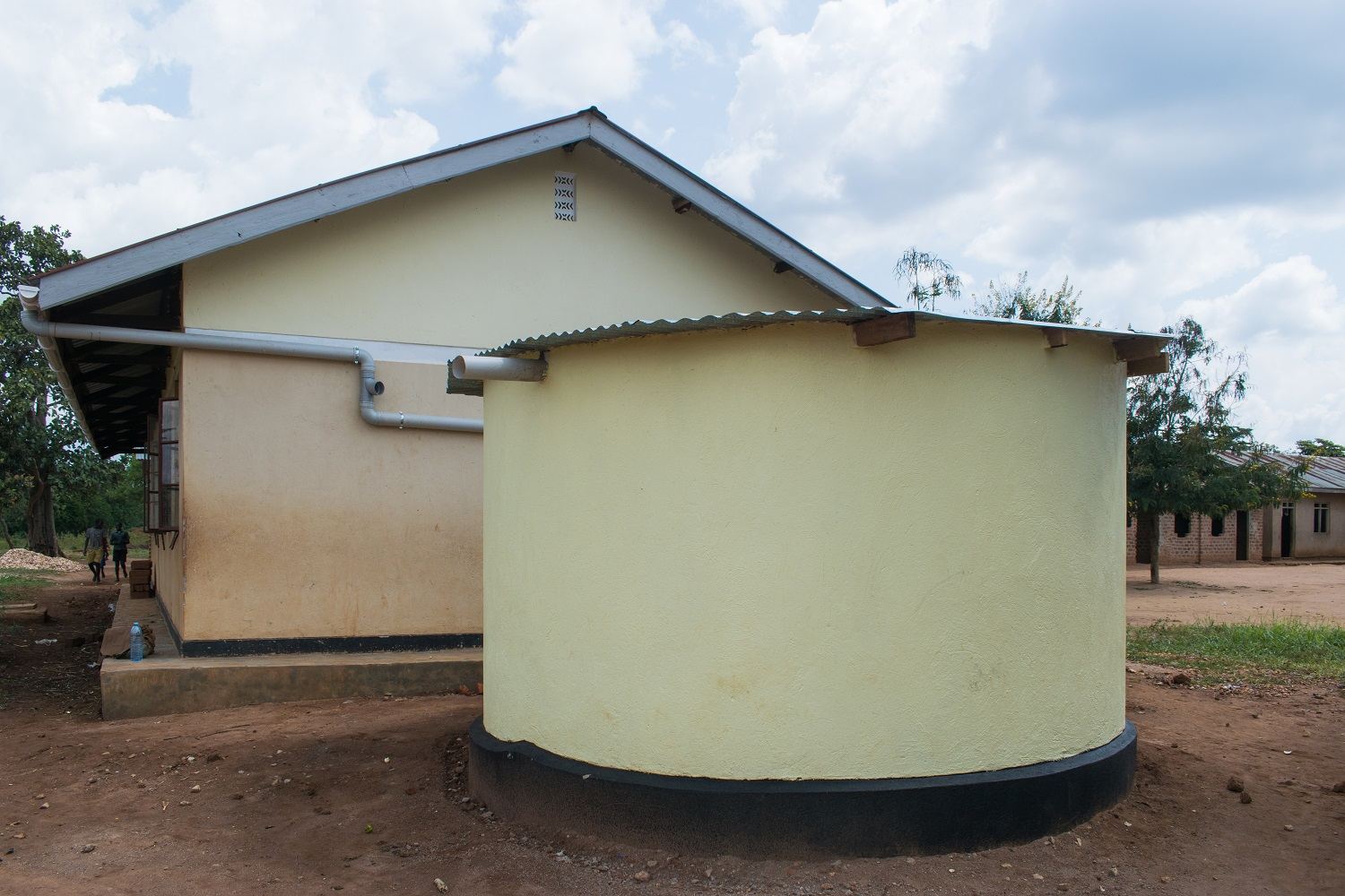 Conclusion of Kagumba Primary School ISSB Tank Project - Uganda