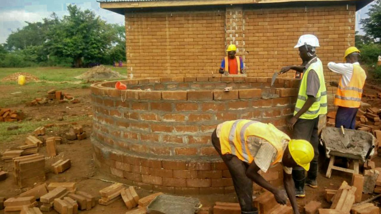Kayembe Primary School ISSB Tank Project - Uganda