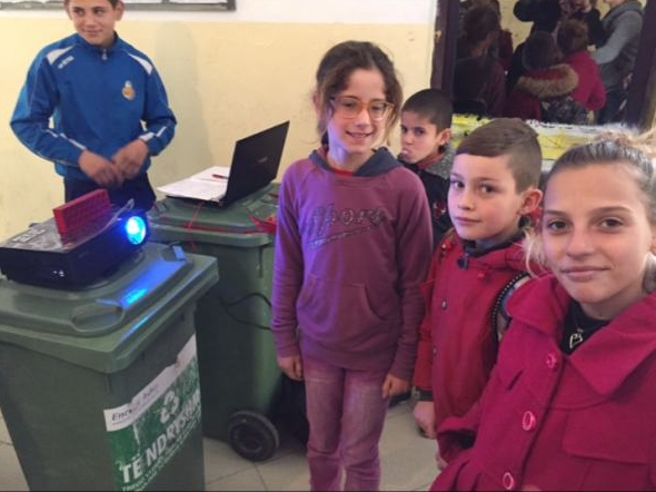 Conclusion of Vau Dejes School Bathroom and Water Project - Albania