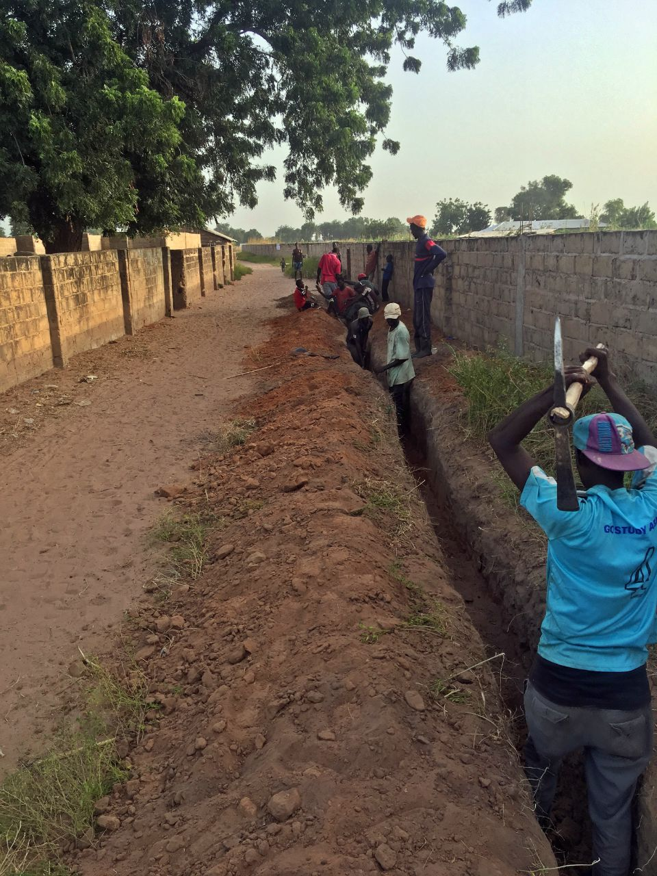 Conclusion of Solar Tap Extension Project - The Gambia