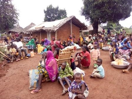 Refugees in Ango, Democratic Republic of Congo