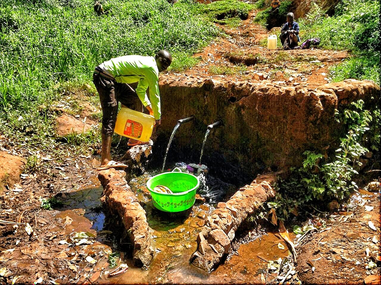 Water source, Kisii, Kenya