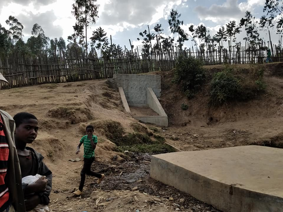 Conclusion of Lamore Spring Rehabilitation Project - Ethiopia