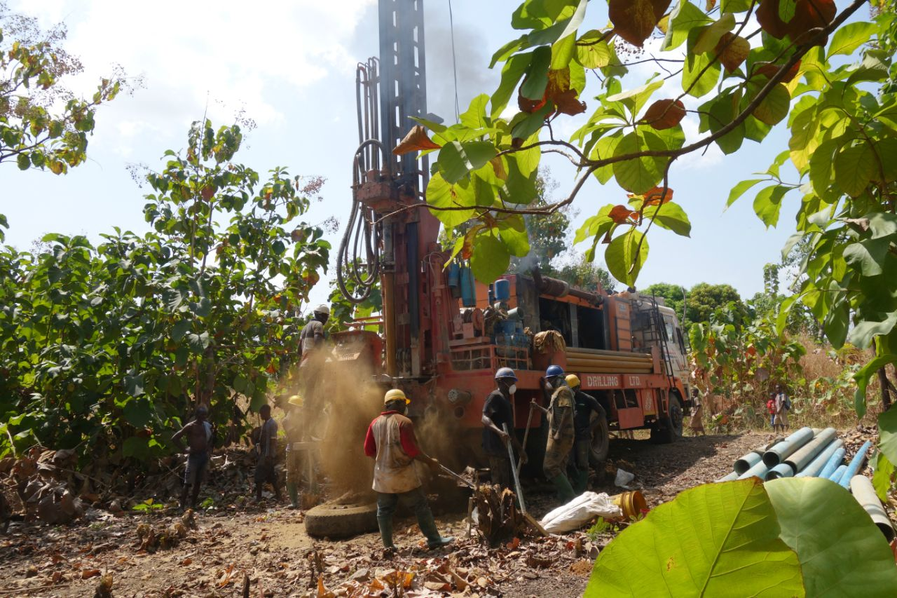 Conclusion of Djamde Health Center Water Project - Togo
