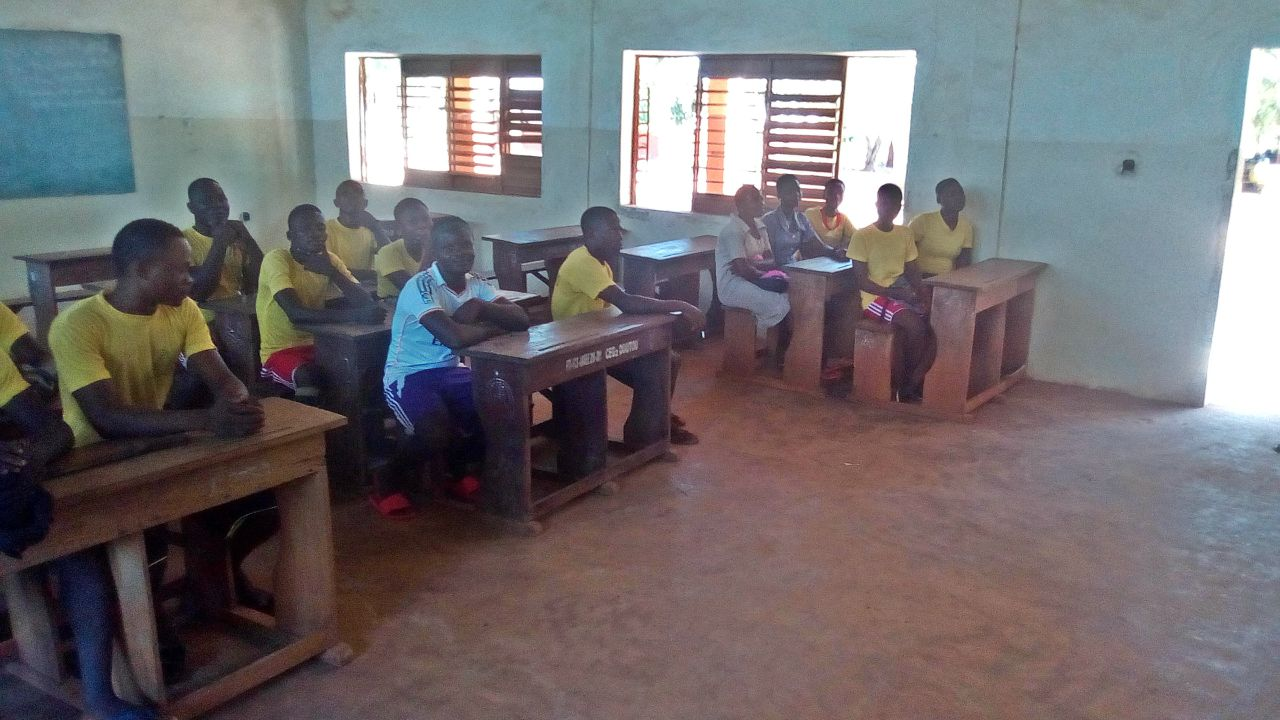 Doutou 2 Secondary School Borehole Project - Benin