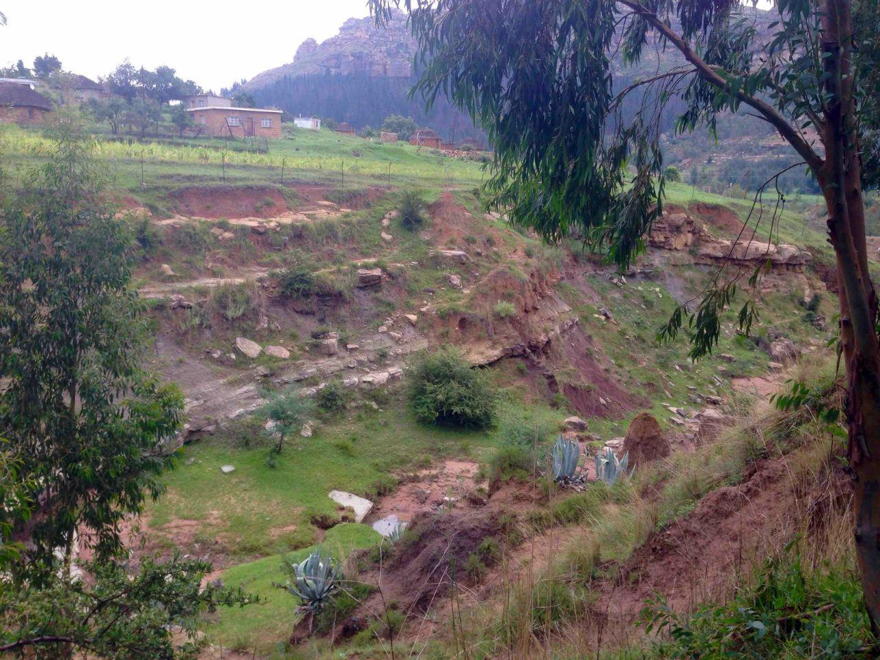 Makhobalo High School Latrine Project - Lesotho