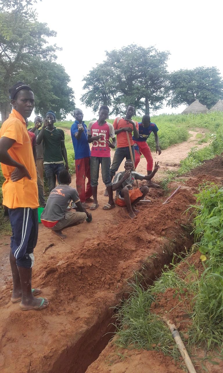 Conclusion of Niani District Water Project - The Gambia