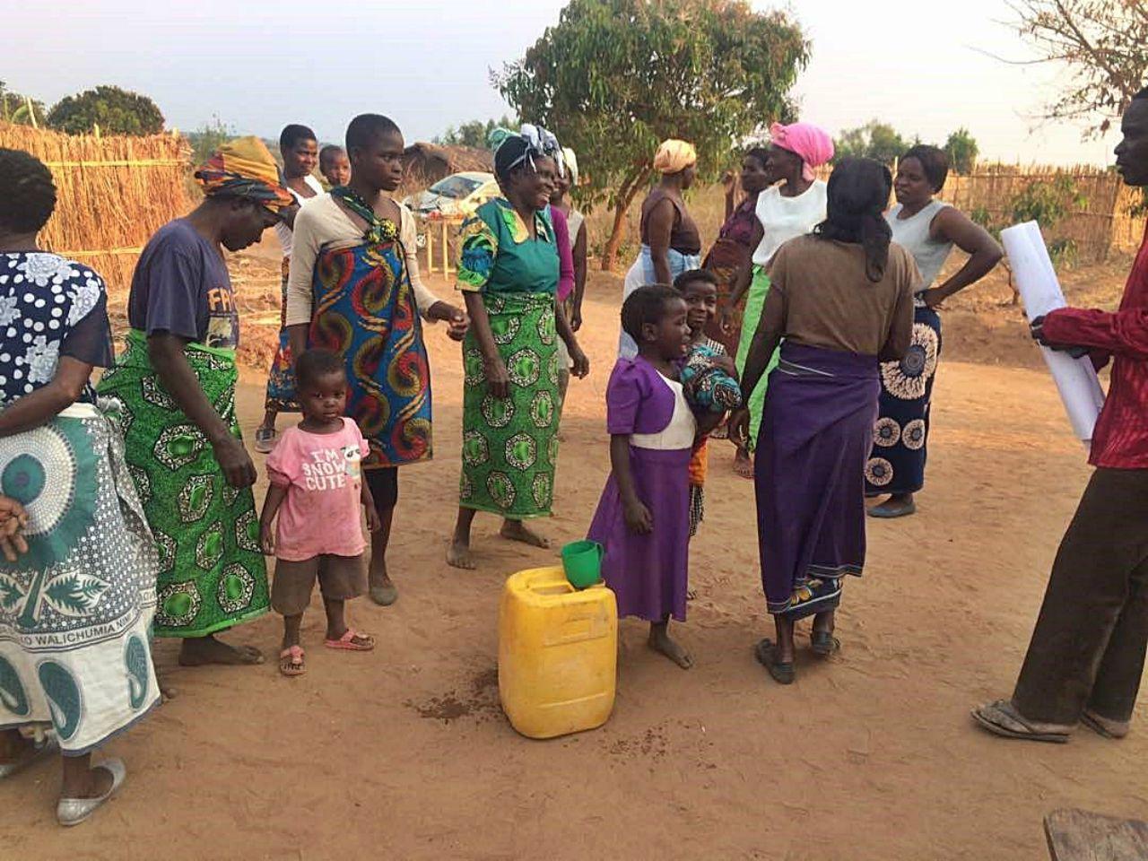 Balakasi Village Borehole Project - Malawi