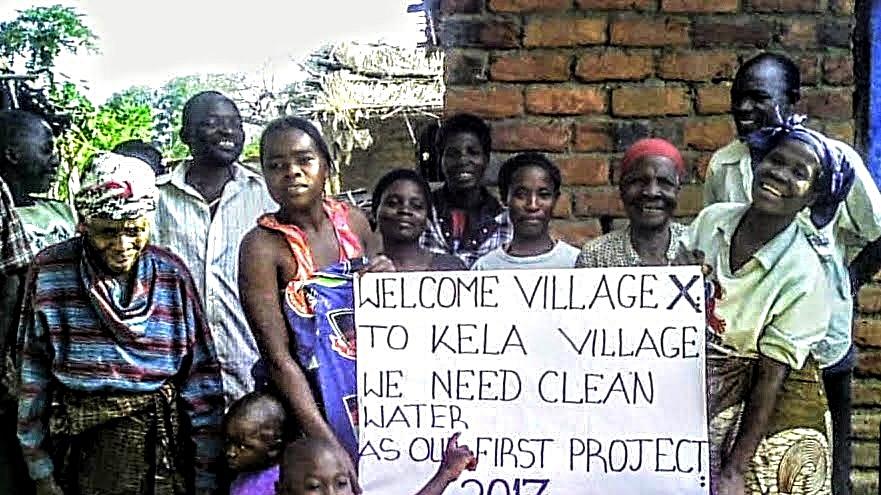 Kela Village Borehole Project - Malawi