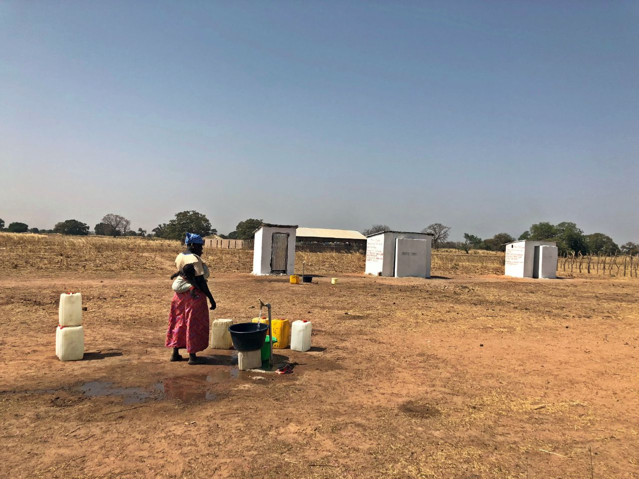 Njie Kunda School Kitchen and Garden Project - The Gambia