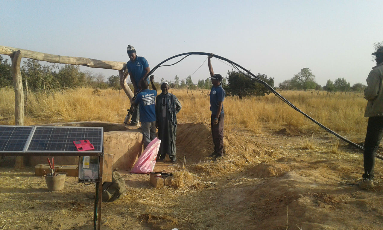 Conclusion of Well and School Garden Project - Senegal