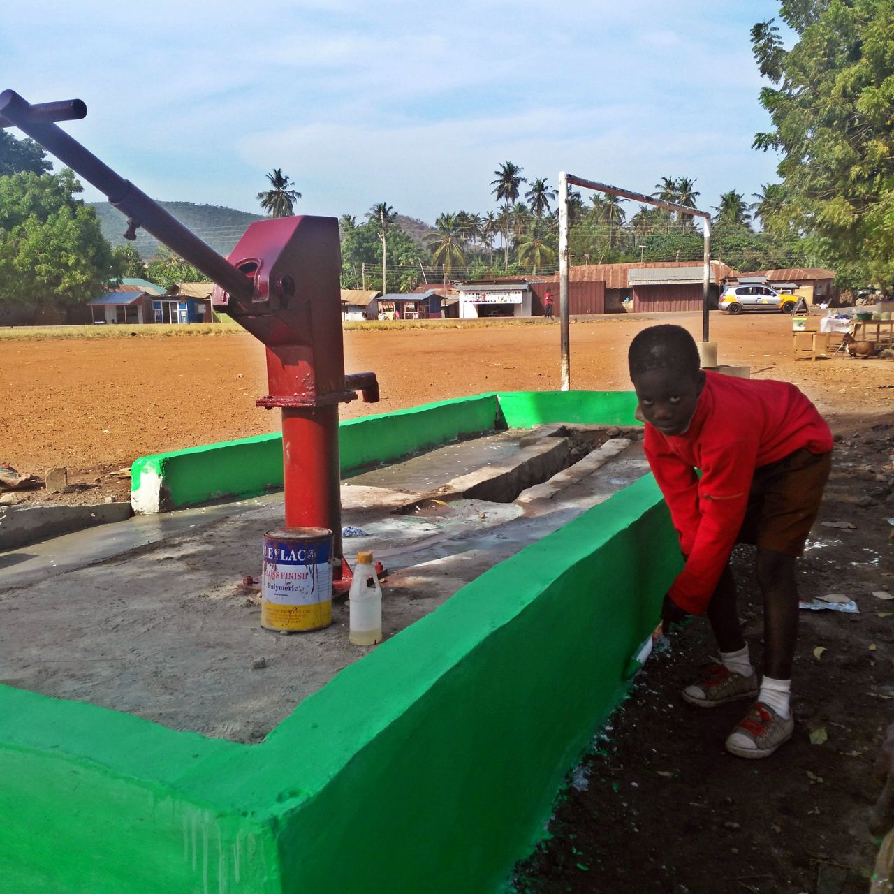 Conclusion of Weremuso Borehole Project - Ghana
