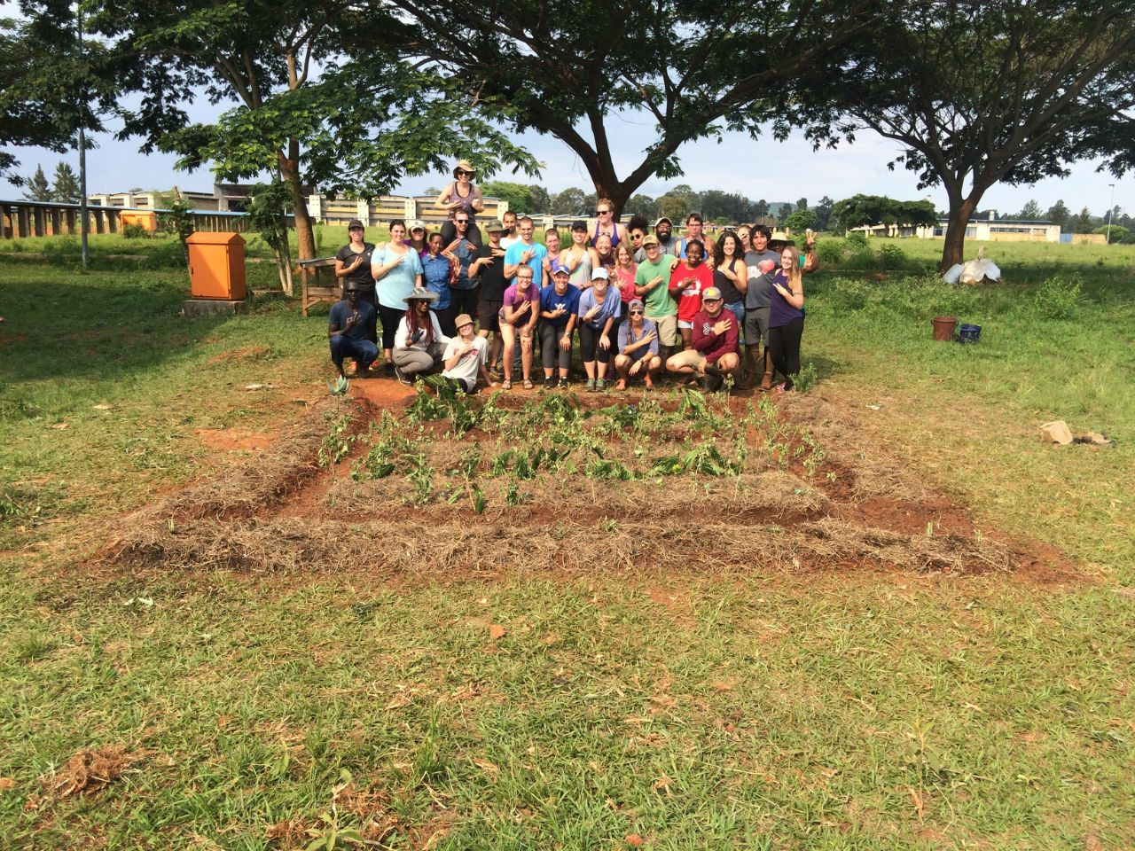 Conclusion of Peace Corps Permagarden Training - Swaziland