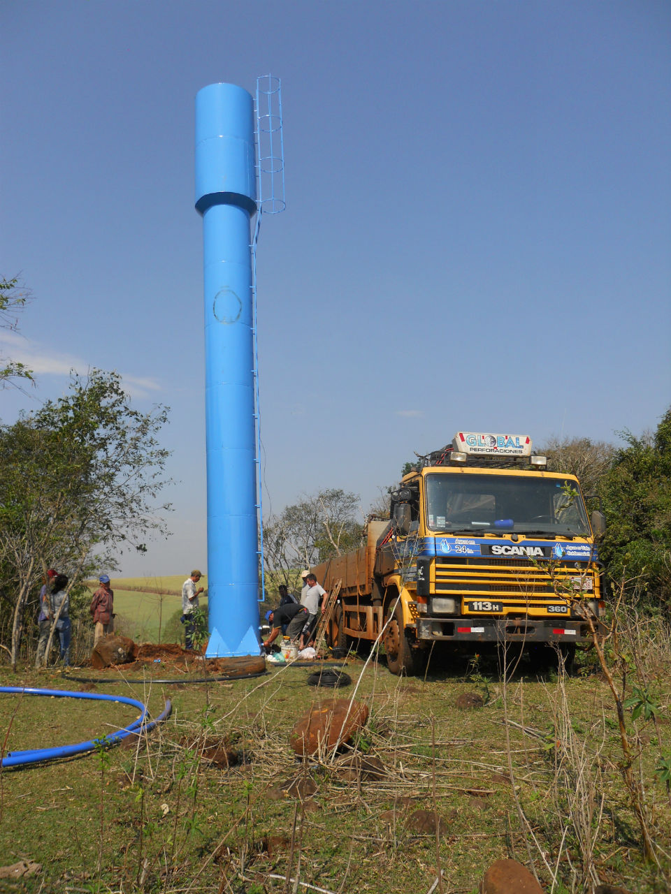 Conclusion of Maria Auxiliadora Water Project - Paraguay
