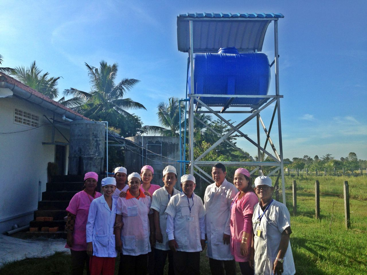 Conclusion of Tram Kak District Water Project - Cambodia