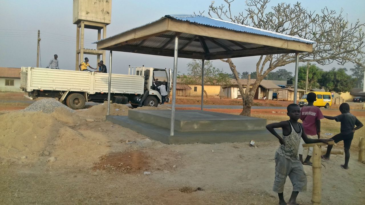 Conclusion of School Tank Remediation Project - Ghana