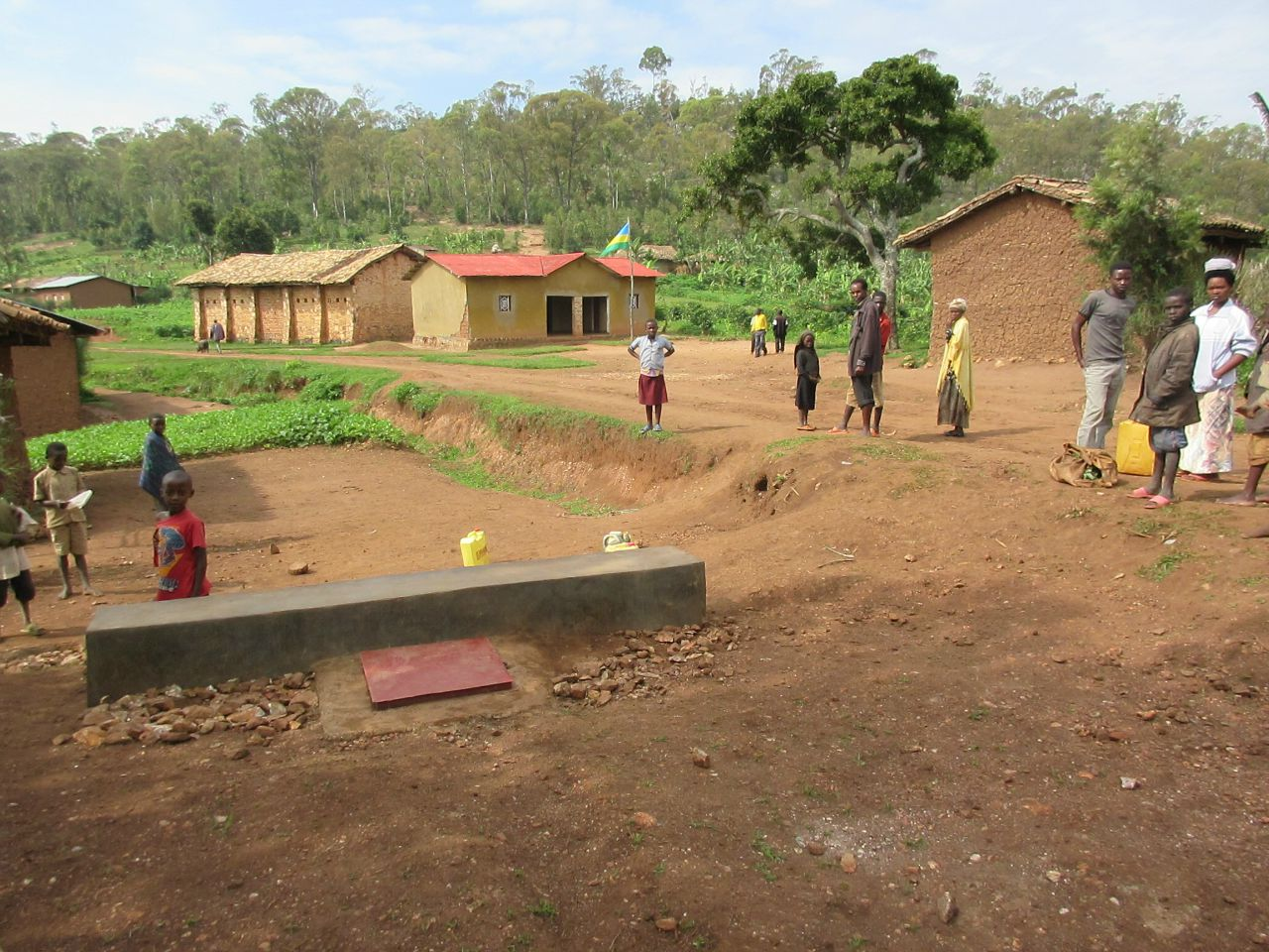 Conclusion of Mara Cell Water System Project - Rwanda