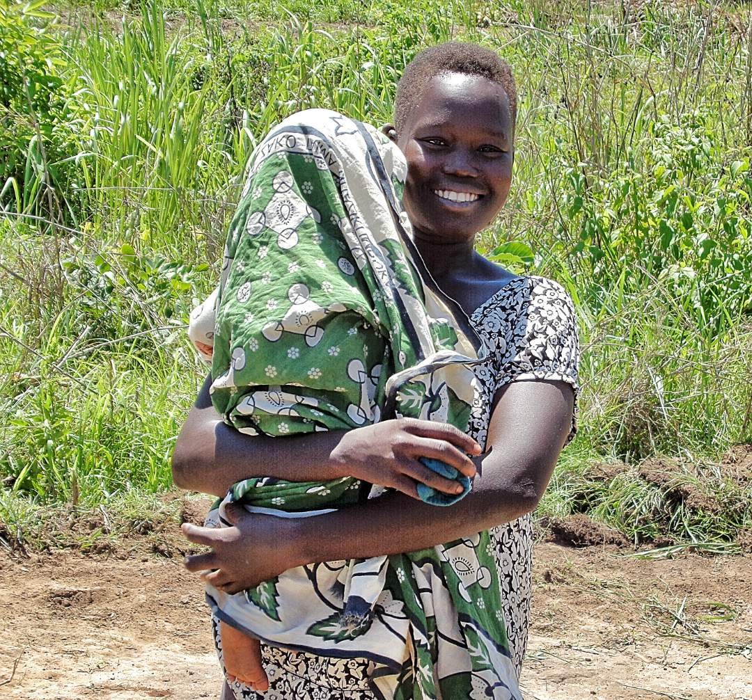 Woman and Child in Yei Region, South Sudan