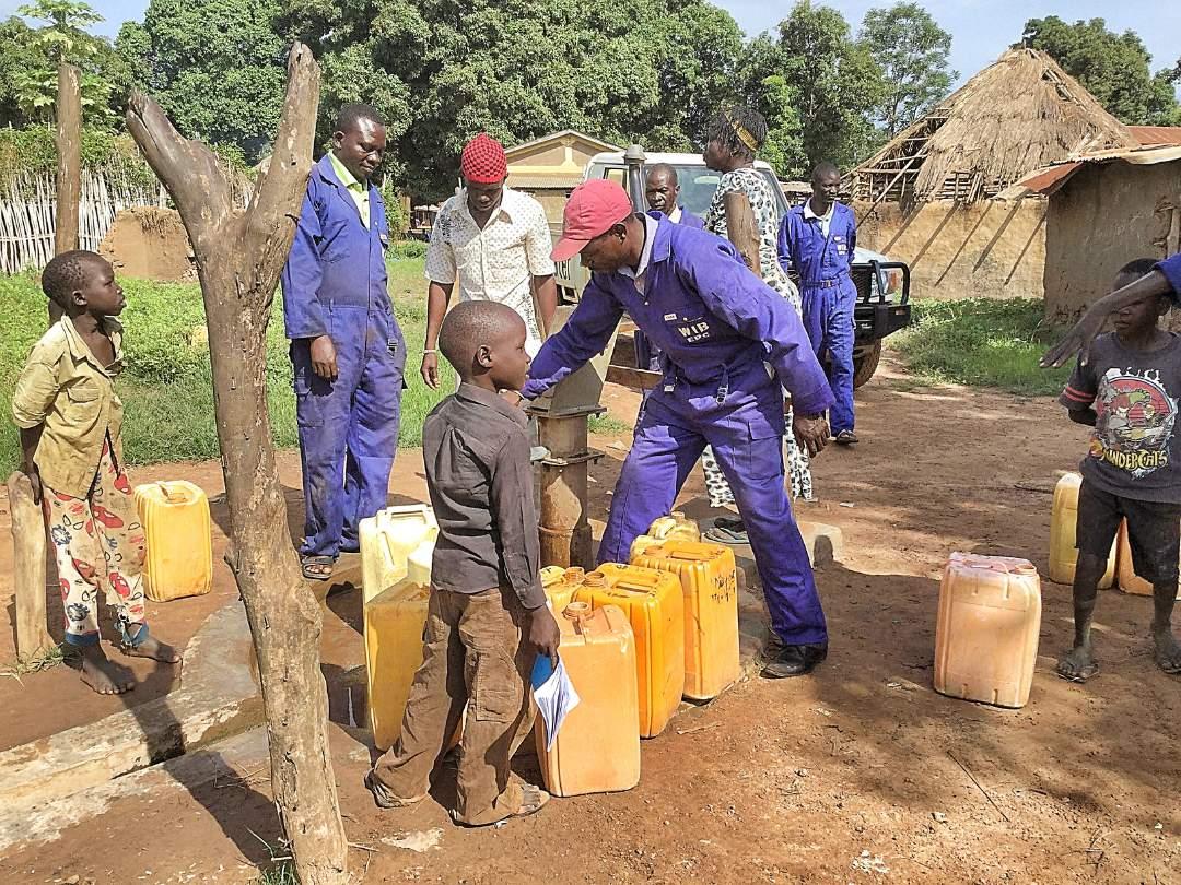 Well Repair Lomulule - South Sudan