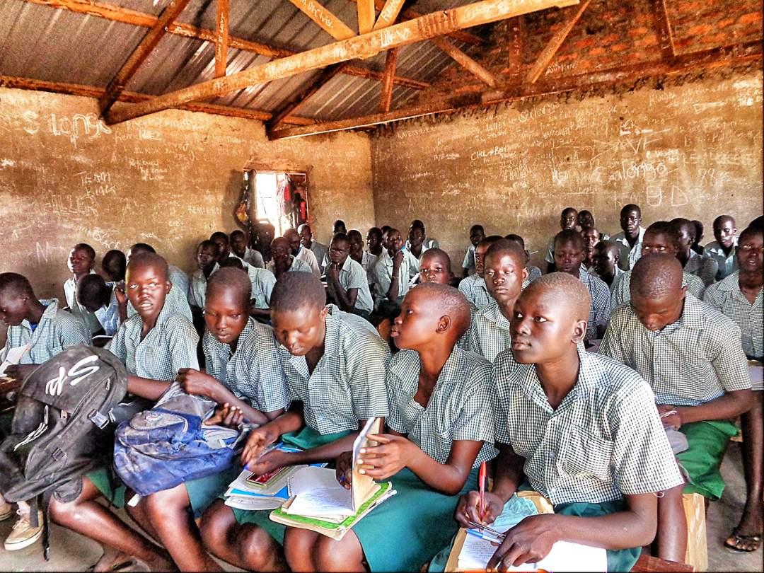 In Class - Bor Dinka - South Sudan