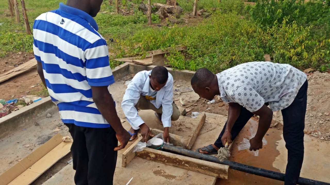 Conclusion of Kwahu West Water Project - Ghana